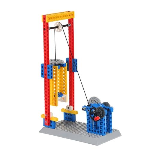 4 Arten Wange Building Maschinenbau Blocks Kits 3 In 1 DIY Getriebe Modell Sammlung Pädagogisches Spielzeug Geschenk für Kinder Stil 1 94 Pcs