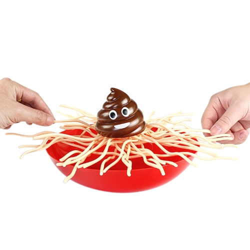 Shit Falling into The Bowl Divertimento Mini Noodles Balance Game Genitori-bambini Interaction Toy Funny Kids Toys Giochi da tavolo Board