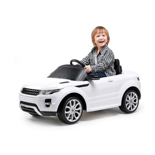 Rastar 12V Licensed Electric Ride on Toy Car Range Rover Evoque Electric Four Wheel Vehicle Battery Powered Ride Parent Remote Control