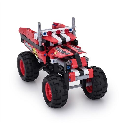 Giocattoli di costruzione di BIOZEA Edificio educativo Costruzione del blocco del palazzo Crazy Truck Set di giocattoli dell'automobile del SUV 213 PCS DIY Assembly Technic illumina il giocattolo dei bambini
