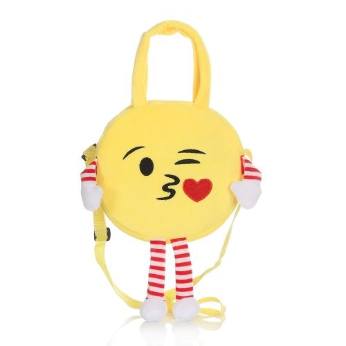 Zaino sveglio del sacchetto di spalla del emoticon di Emoji Emoji