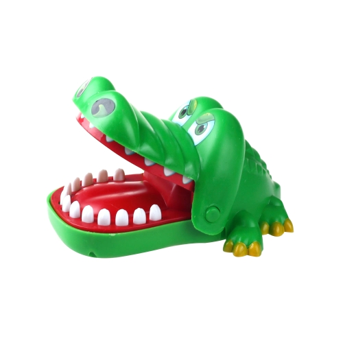 Cute Big Crocodile Mouth Dentist Green Bite Finger Game Toy Home Family Games Gifts Biting Funny Toys for Children Kid Adult