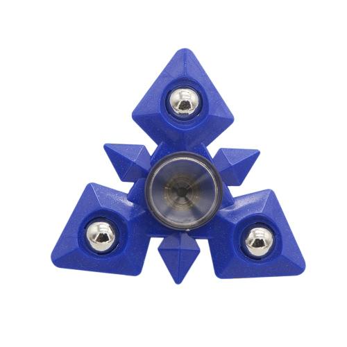 Fidget Hand Triおもちゃ抗不安スピン殺す時間のための超高速耐久性のあるポータブルスピナーは、ストレスを軽減するADHD Fidgety自閉症