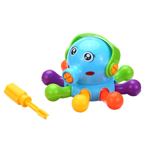 Baby Kinder Tier Puzzle Lernspielzeug Kinder Demontage Montage Cartoon Kunststoff Montiert Design Spielzeug Geschenk Stil 1
