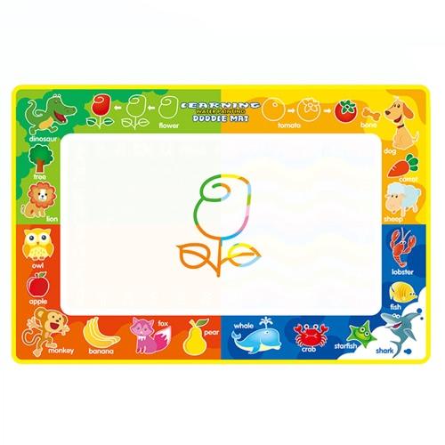 Aqua Doodle Wasser Zeichnung Mat Painting Travel Board mit Magic Pen für Kinder Kunst Bildung