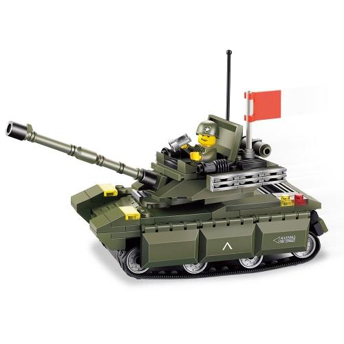 XIPOO Military Series 169pcs XP91009 Type 99 Main Battle Tank Building Blocks Educational Toys