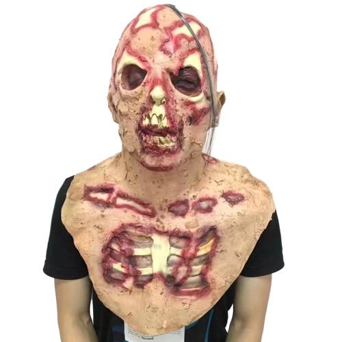 悪魔生化学モンスターマスク恐ろしいスカルゾンビモンスターヘッドギア
