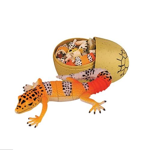 イースターエッグDIY組立キット子供の教育玩具で4個の3D恐竜のパズルを盛り合わせ