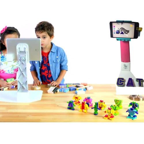 Bololetter 5D lettere intelligenti VR Inglese Ingegneria Giocattoli educativi Parole Spelling Recongnition Kids Regalo