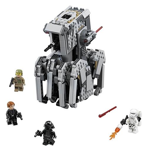 LEPIN 05126 620szt Zestaw Star Wars First Order Heavy Scout Walker Robot Zestaw klocków hamulcowych - opakowanie plastikowe