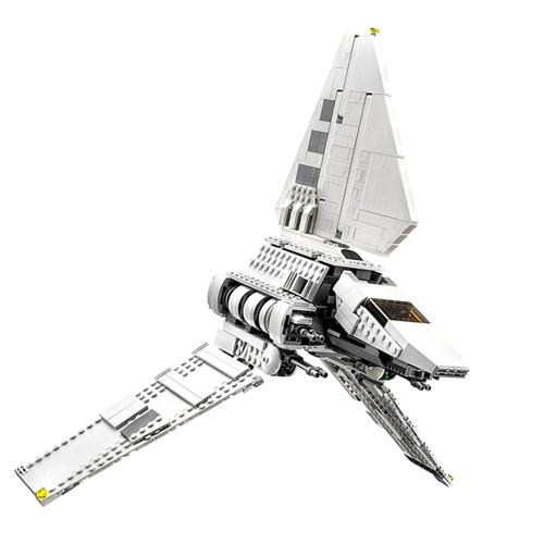 オリジナルボックスLEPIN 05057 937個セットスターウォーズシリーズインペリアルシャトルタイダイアム宇宙船ビルディングブロックキットセット