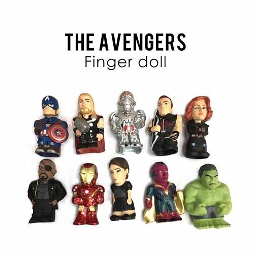 10Pcs Avengers Collectible Figure Toys Movie Action Figure Marvel Fans Gift