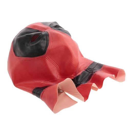 Deadpool Mask w / Black Mesh Latex Costume Mask Headgear для Хэллоуина Cosplay Party Decoration Backroom Film Props