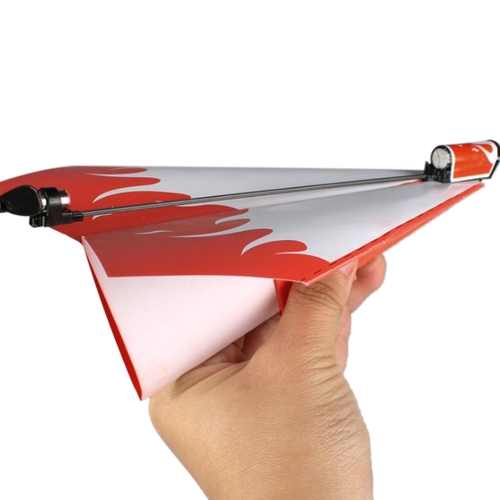 Funny Electric Papier Flugzeug Flugzeug Launcher Conversion DIY Kit Lernspielzeug Kinder Gehirntraining Engineering und Mechanik Spielzeug Zufällige Lieferung