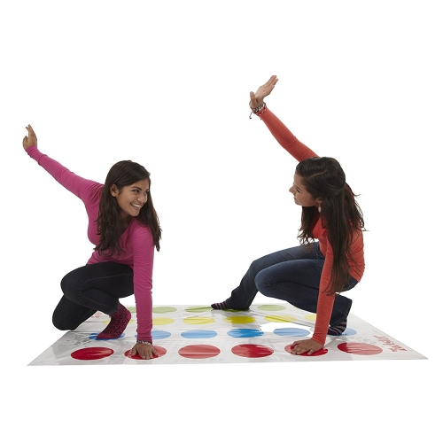 Funny Kids Classic Body Twister-game Moves Play Mat Board Game Dot Group Party Sport Toy Gift