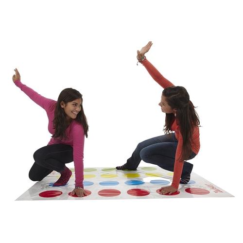 Lustige Kinder klassische Körper Twister-Spiel bewegt Spielmatte Brettspiel Dot Gruppe Party Sport Spielzeug Geschenk