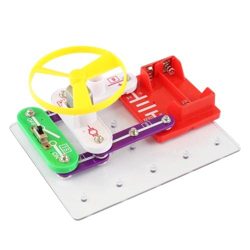 W-39 Elektronika Discovery Kit DIY Spodek latający Lampa Radio FM Obwód bloku Nauka Edukacyjna Zabawka dla dzieci