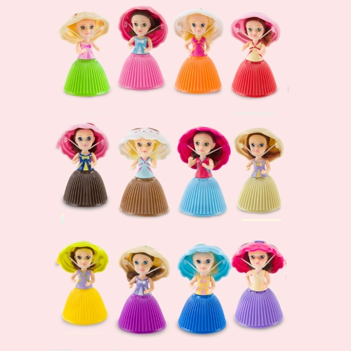 1 Pz Surprise Cupcake Princess Doll Toys