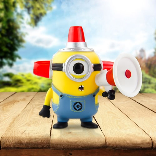 FUNKO POP Movie Despicable Me 2 Action Figure Vinyl Model Collection - Fire Alarm Minion