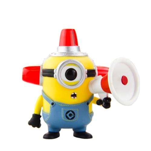 FUNKO POP película Despicable Me 2 Colección figura de acción de vinilo Modelo - alarma de incendio Minion