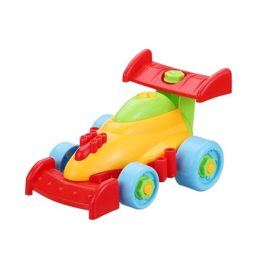 Simpimベビーキッズパズル教育おもちゃ子供の分解アセンブリ漫画車のおもちゃのギフトスタイル1