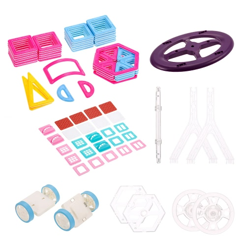 85PCS Magnet Building Magnetic Blocks Construction Zabawki edukacyjne dla dzieci