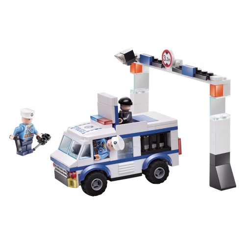 XIPOO Police Series 188pcs XP93512 Outlaw Building Blocks Educational Toys