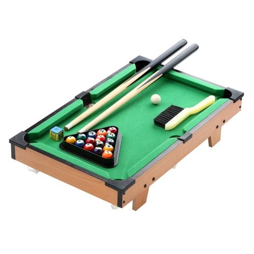 51 * 31.5 * 10.5cm HUANGGUAN TOYS HG201Dミニビリヤードテーブル教育玩具ファミリーゲームルーム