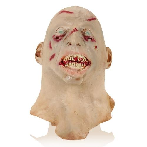Weinen Gesichtsmaske Horror Ghost Kopfbedeckung Monster für Halloween Party Dekoration Backroom Film Requisiten