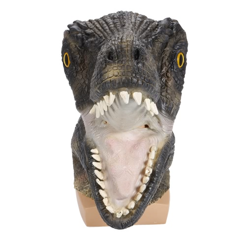 恐怖のティラノサウルスレックス動物マスクモンスターヘッドギア