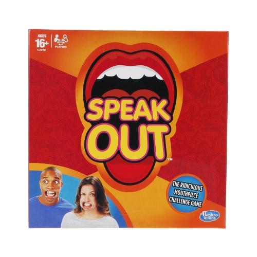 Speak Out Game Expansion Party Card Gioca Divertimento Divertente con 5 Bocchini