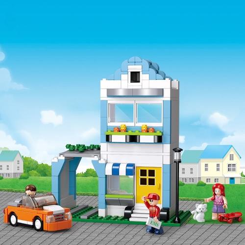 Sluban M38  -  B0572 305キロレミ&クイーンズアパートタウンシリーズビルディングブロック建設おもちゃ子供のための