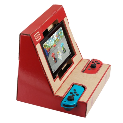 LABO NS Switch Case DIY Cardboard Holder Arcade Bracket for Nintendo Switch