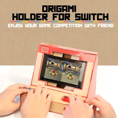 Staffa arcade LABO NS Switch Case DIY Cardboard Holder per Nintendo Switch