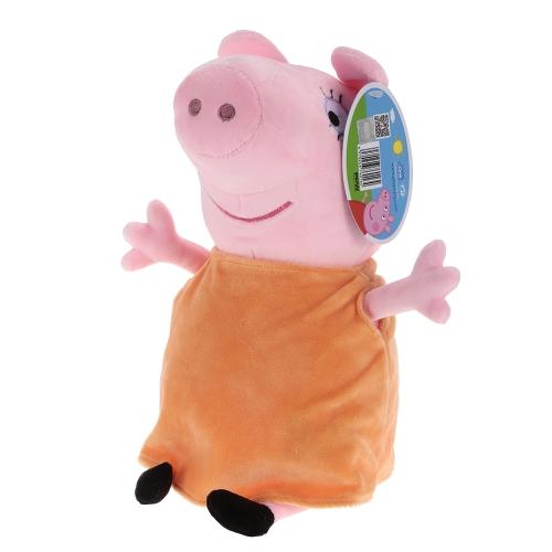 オリジナルブランドPeppa Pig 30cmママぬいぐるみぬいぐるみ家族パーティードール子供のためのクリスマス新年の贈り物