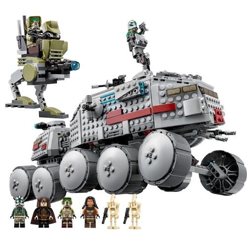 Caja Original LEPIN 05031 933pcs Star Wars Clone Turbo Tank Bloques de construcción Kit Set