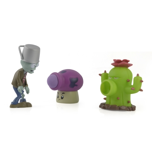 5Pcs Plants VS Zombies PVC Action Figure Set Collectible Mini Figure Toy Kids Dolls Birthday Gift