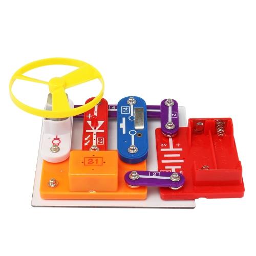 Elettronica Discovery Kit DIY Electric Circuit Building Blocks Scienza Educativa Esperimento di fisica Giocattolo per bambini Bambini Età superiore a 5