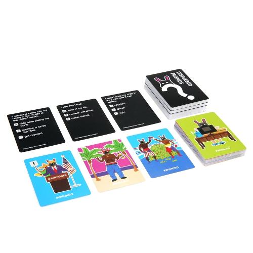 混乱した友人最初の拡張ミニゲームすべての新しいカードテーブルパーティー予選ゲーム4  -  10プレイヤー