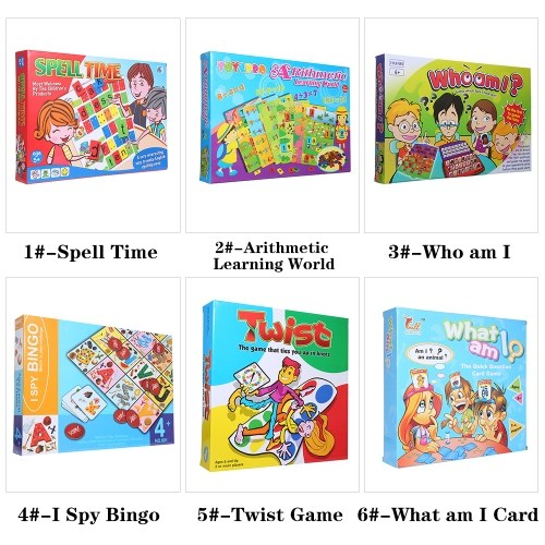 Image of What am I Card Game Table Game Card Family Fun Puzzle Games Educational