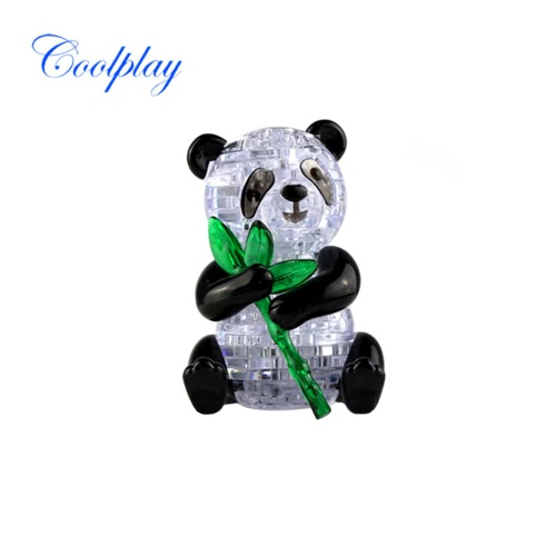 Coolplay 3D Crystal Puzzle Panda Model Cute DIY Building Toy Gift Gadget Crystal Blocks