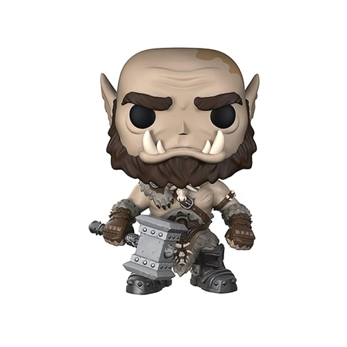 FUNKO POP Film Warcraft Action Figure vinile Girl Ornaments - Orgrim