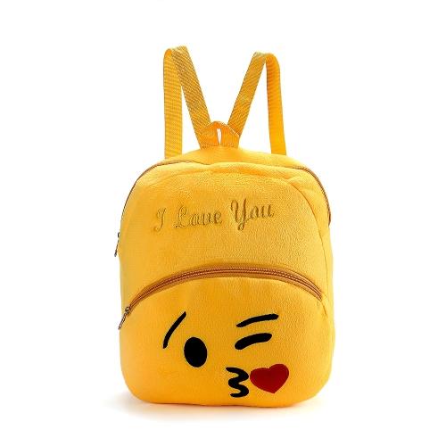 Śliczne Emoji Emotikony Torba na Ramię Piękna Szkoła Torba dla Dzieci Pluszowa Plecaki na zabawki Torba na plecaki Torba na prezent dla Chłopców Dziewczynka dla dzieci 6 #