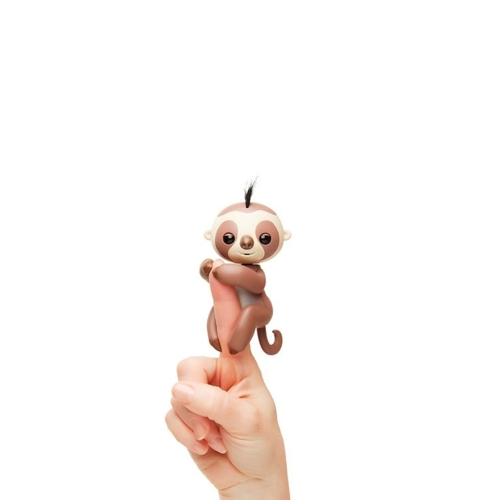 Smart Sloth Gigi Interactive Glitter Eletrônico Criativo Finger Toy Induction Pet for Kids Baby