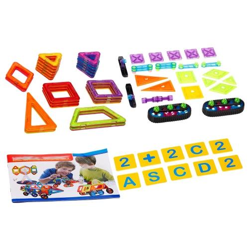 XINBIDA 7056 56PCSマグネットビルディング磁気ブロック建設教育用おもちゃ