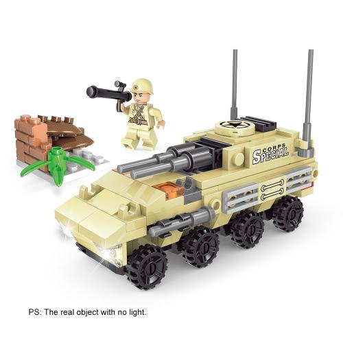 XIPOO 860pcs XP91014 Serie militare 6 blocchi di costruzione impostare giocattoli educativi