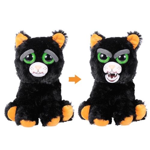 Feisty Pets Katy Cobweb魅力的なぬいぐるみのぬいぐるみの黒い猫、