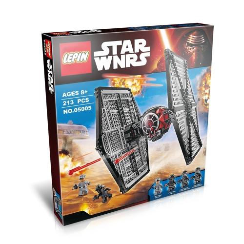 Oryginalne pudełko LEPIN 05005 562szt Star Wars First Order Special Forces TIE Fighter - Star Wars Spaceship Zestaw klocków