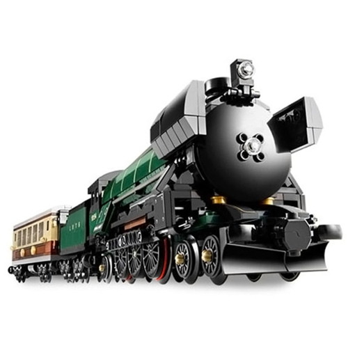 Caja Original LEPIN 21005 1085 unids Technic Series Creador Emerald Night Train Modelo Building Blocks Bricks Kit