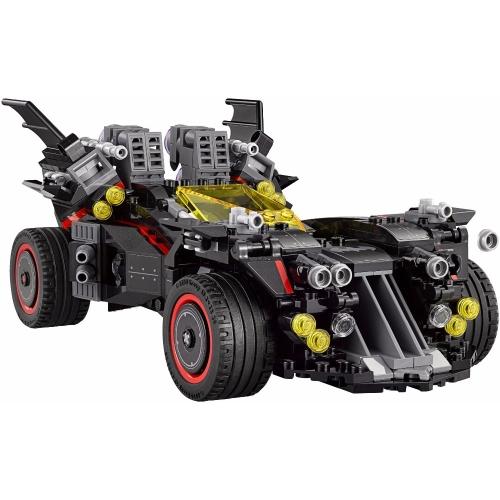 Oryginalne pudełko LEPIN 07077 1496 sztuk Super Heroes Series The Ultimate Batmobile Model Building Blocks Bricks Kit